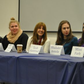 "Photos from ""The Heart that Sings"" Screening and Panel at Stern"